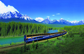 Rocky Mountaineer, spectacular scenery