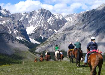 Horseback Adventures - High Mountain Wilderness Camp